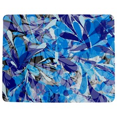 Abstract Floral Jigsaw Puzzle Photo Stand (rectangular)