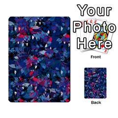 Abstract Floral #3 Multi Purpose Cards (rectangle)  by Uniqued