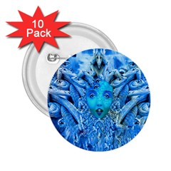 Medusa Metamorphosis 2 25  Buttons (10 Pack)  by icarusismartdesigns