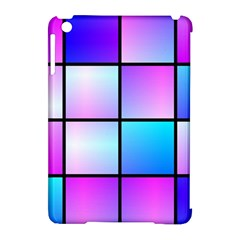 Gradient Squares Pattern  			apple Ipad Mini Hardshell Case (compatible With Smart Cover) by LalyLauraFLM
