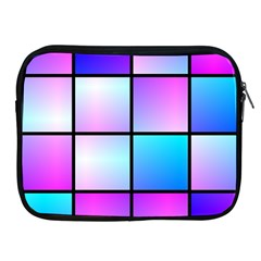 Gradient Squares Pattern  			apple Ipad 2/3/4 Zipper Case by LalyLauraFLM