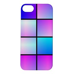 Gradient Squares Pattern  			apple Iphone 5s Hardshell Case by LalyLauraFLM