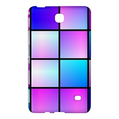 Gradient Squares Pattern  			samsung Galaxy Tab 4 (7 ) Hardshell Case by LalyLauraFLM