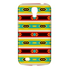 Rhombus Stripes And Other Shapes 			samsung Galaxy Mega 6 3  I9200 Hardshell Case by LalyLauraFLM