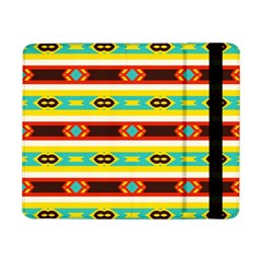 Rhombus Stripes And Other Shapes 			samsung Galaxy Tab Pro 8 4  Flip Case by LalyLauraFLM