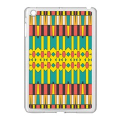 Shapes And Stripes  			apple Ipad Mini Case (white) by LalyLauraFLM