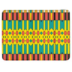 Shapes And Stripes  			samsung Galaxy Tab 7  P1000 Flip Case