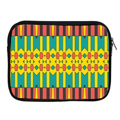 Shapes And Stripes  			apple Ipad 2/3/4 Zipper Case by LalyLauraFLM