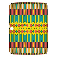 Shapes And Stripes  			samsung Galaxy Tab 3 (10 1 ) P5200 Hardshell Case by LalyLauraFLM