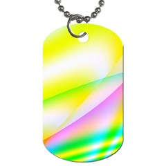 New 4 Dog Tag (two Sides) by timelessartoncanvas