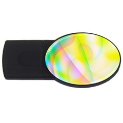 New 5 Usb Flash Drive Oval (2 Gb)  by timelessartoncanvas