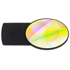 New 6 Usb Flash Drive Oval (2 Gb)  by timelessartoncanvas