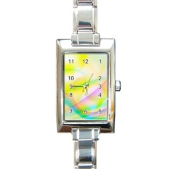 New 7 Rectangle Italian Charm Watch by timelessartoncanvas