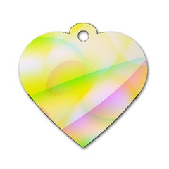 New 7 Dog Tag Heart (two Sides) by timelessartoncanvas