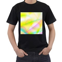 New 7 Men s T-shirt (black) by timelessartoncanvas