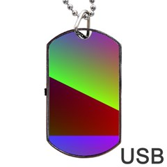 New 8 Dog Tag Usb Flash (two Sides)  by timelessartoncanvas