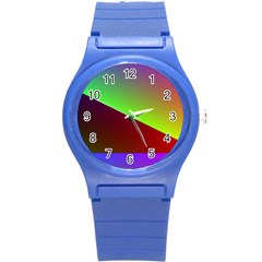 New 8 Round Plastic Sport Watch (s) by timelessartoncanvas