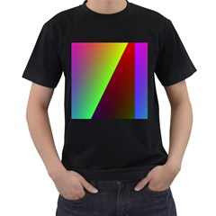 New 9 Men s T-shirt (black) (two Sided) by timelessartoncanvas
