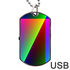 New 9 Dog Tag Usb Flash (two Sides)  by timelessartoncanvas