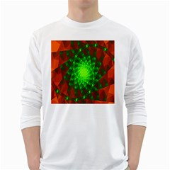 New 10 White Long Sleeve T Shirts by timelessartoncanvas