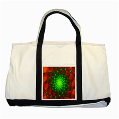 New 10 Two Tone Tote Bag by timelessartoncanvas