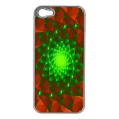New 10 Apple Iphone 5 Case (silver) by timelessartoncanvas