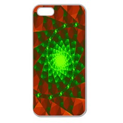 New 10 Apple Seamless Iphone 5 Case (clear) by timelessartoncanvas