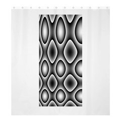 New 11 Shower Curtain 66  X 72  (large)  by timelessartoncanvas