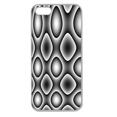 New 11 Apple Seamless Iphone 5 Case (clear) by timelessartoncanvas
