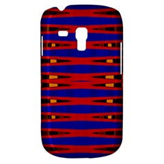 Bright Blue Red Yellow Mod Abstract Samsung Galaxy S3 Mini I8190 Hardshell Case