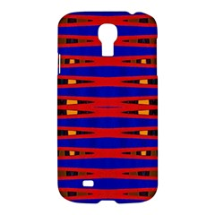 Bright Blue Red Yellow Mod Abstract Samsung Galaxy S4 I9500/i9505 Hardshell Case