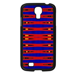 Bright Blue Red Yellow Mod Abstract Samsung Galaxy S4 I9500/ I9505 Case (black)