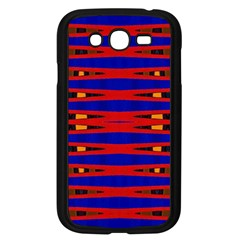 Bright Blue Red Yellow Mod Abstract Samsung Galaxy Grand Duos I9082 Case (black)