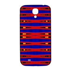 Bright Blue Red Yellow Mod Abstract Samsung Galaxy S4 I9500/i9505  Hardshell Back Case