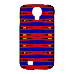 Bright Blue Red Yellow Mod Abstract Samsung Galaxy S4 Classic Hardshell Case (pc+silicone)