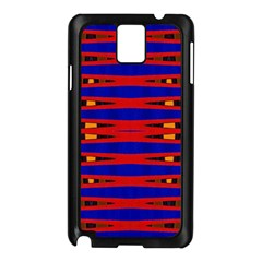 Bright Blue Red Yellow Mod Abstract Samsung Galaxy Note 3 N9005 Case (black)