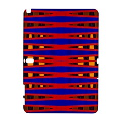Bright Blue Red Yellow Mod Abstract Samsung Galaxy Note 10 1 (p600) Hardshell Case