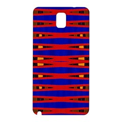 Bright Blue Red Yellow Mod Abstract Samsung Galaxy Note 3 N9005 Hardshell Back Case