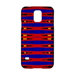 Bright Blue Red Yellow Mod Abstract Samsung Galaxy S5 Hardshell Case