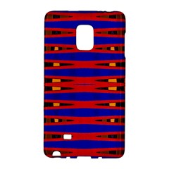 Bright Blue Red Yellow Mod Abstract Galaxy Note Edge