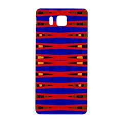 Bright Blue Red Yellow Mod Abstract Samsung Galaxy Alpha Hardshell Back Case