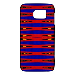 Bright Blue Red Yellow Mod Abstract Galaxy S6