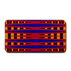 Bright Blue Red Yellow Mod Abstract Medium Bar Mats