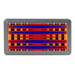 Bright Blue Red Yellow Mod Abstract Memory Card Reader (mini)