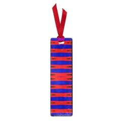 Bright Blue Red Yellow Mod Abstract Small Book Marks