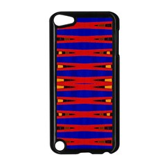 Bright Blue Red Yellow Mod Abstract Apple Ipod Touch 5 Case (black)