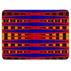 Bright Blue Red Yellow Mod Abstract Samsung Galaxy Tab 7  P1000 Flip Case