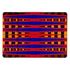 Bright Blue Red Yellow Mod Abstract Samsung Galaxy Tab 10 1  P7500 Flip Case