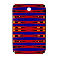 Bright Blue Red Yellow Mod Abstract Samsung Galaxy Note 8 0 N5100 Hardshell Case