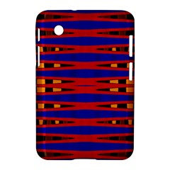 Bright Blue Red Yellow Mod Abstract Samsung Galaxy Tab 2 (7 ) P3100 Hardshell Case